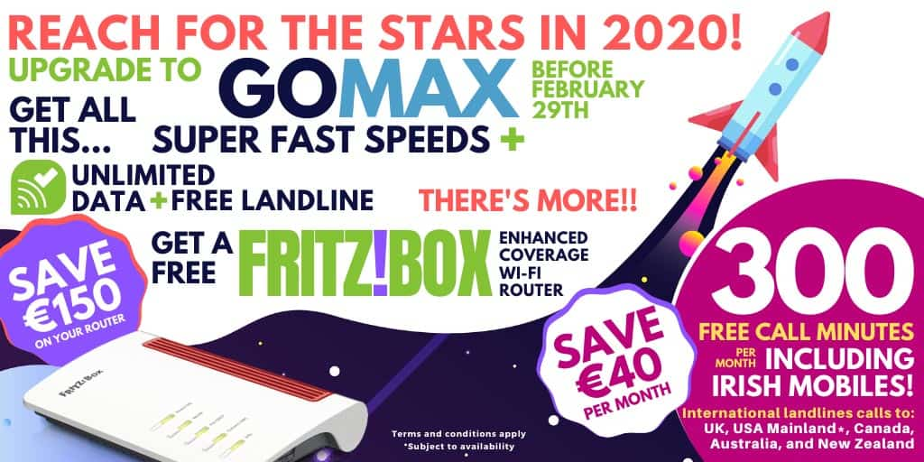 Lightnet are now offering high speed broadband with free mobile call minutes.